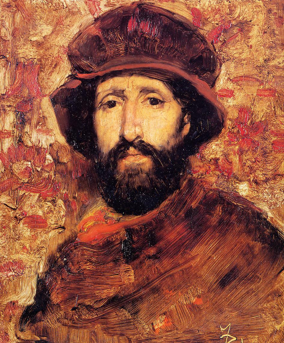 Fellow Artist in Costume 1880 | Frank Duveneck | Oil Painting