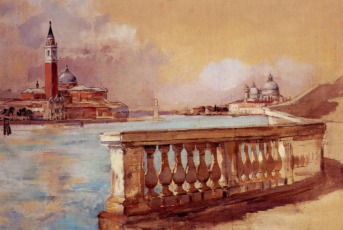 Grand Canal in Venice 1883 | Frank Duveneck | Oil Painting