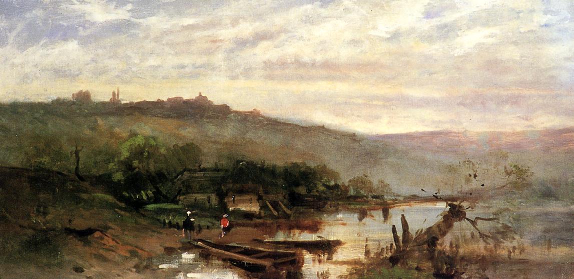 Landscape at Polling 1876 | Frank Duveneck | Oil Painting
