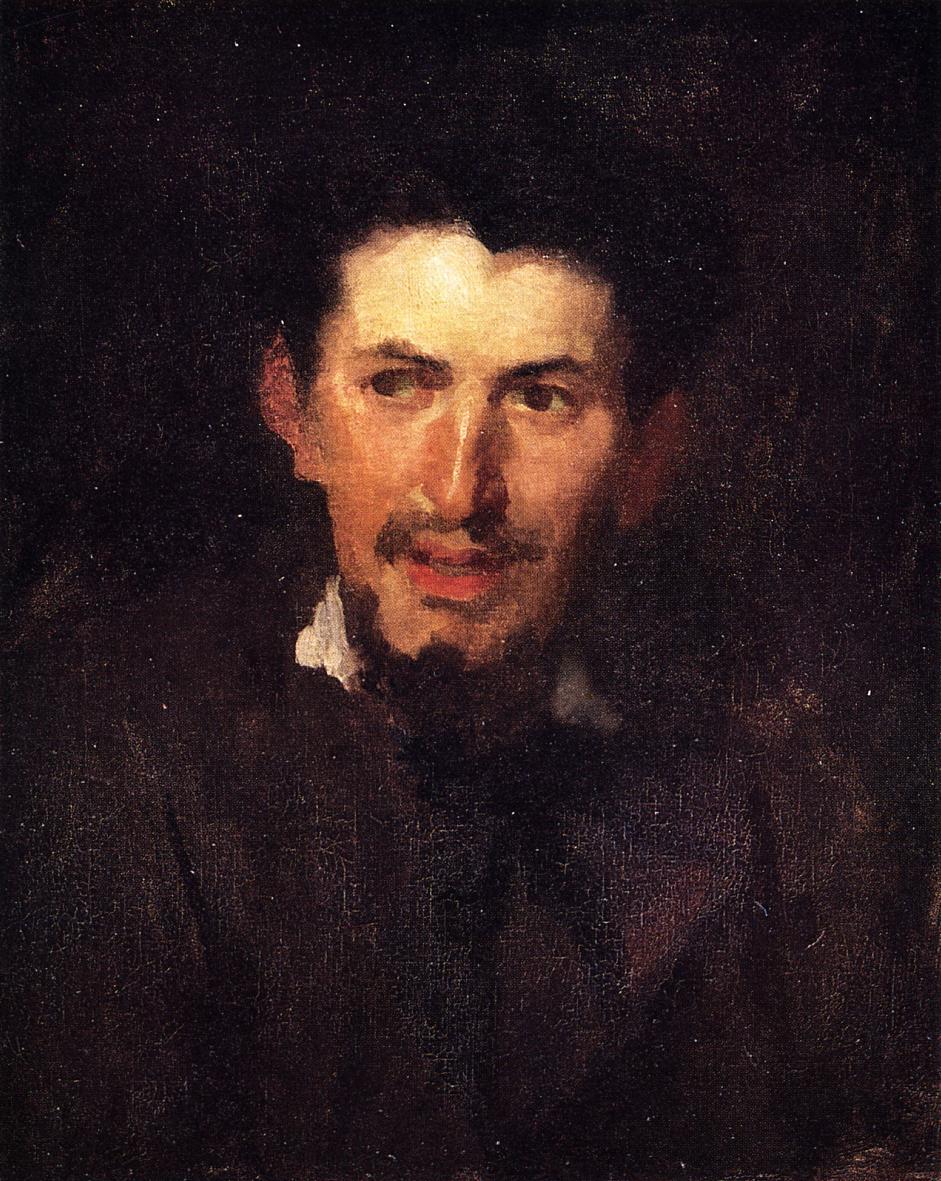 Portrait of a Fellow Artist 1870 | Frank Duveneck | Oil Painting