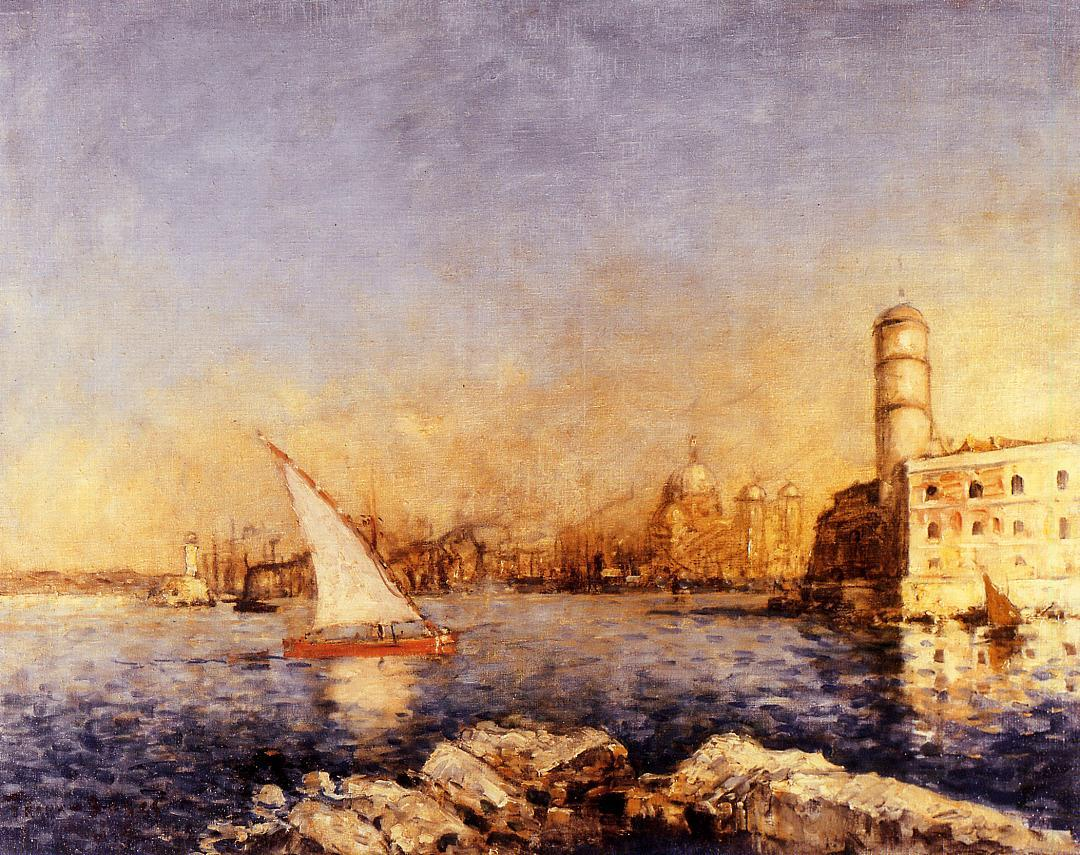The Port of Marseille | Frank Myers Boggs | Oil Painting