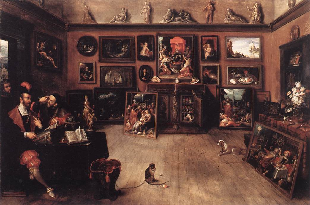 An Antique Dealers Gallery 1615-20 | Frans Francken | Oil Painting