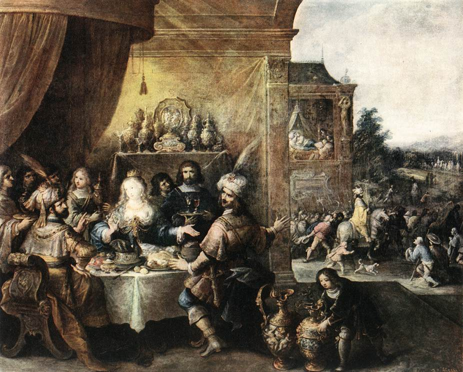 Feast Of Esther | Frans Francken | Oil Painting