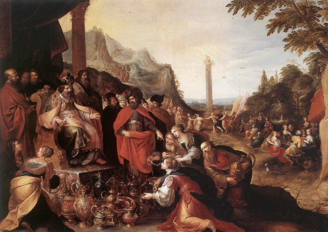 Worship Of The Golden Calf | Frans Francken | Oil Painting