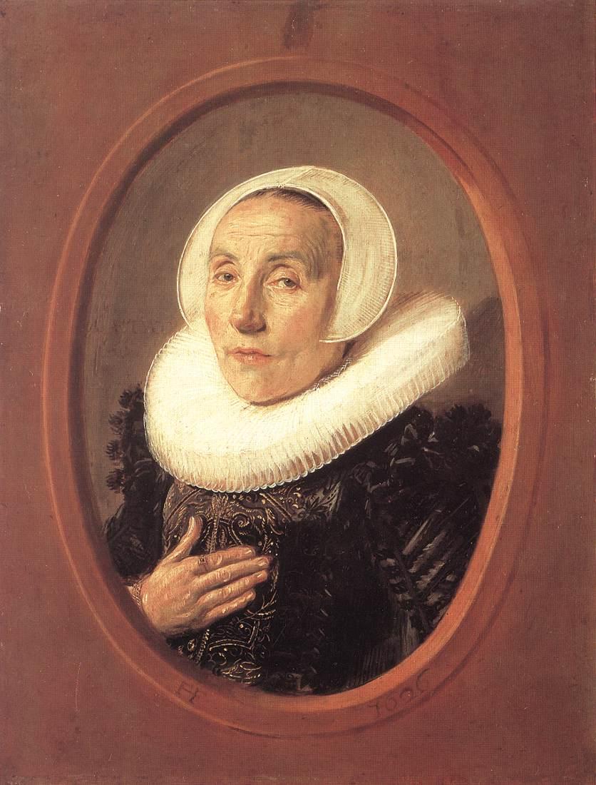 Anna Van Der Aar 1626 | Frans Hals | Oil Painting