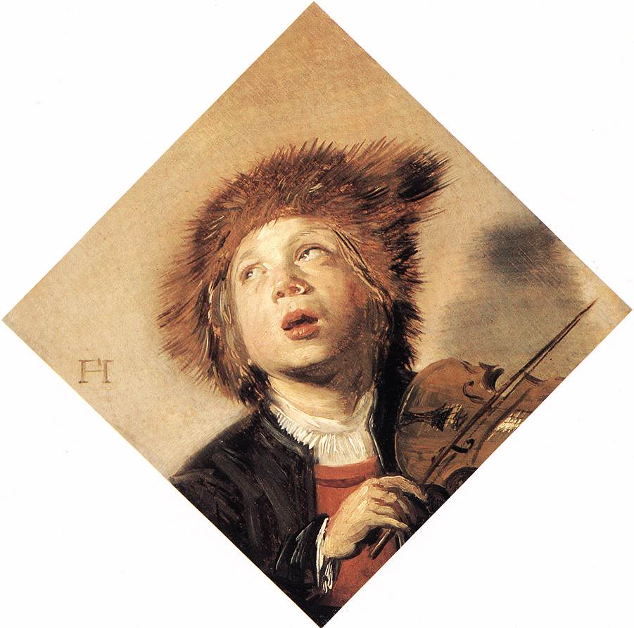 Boy Playing A Violin 1625-30 | Frans Hals | Oil Painting