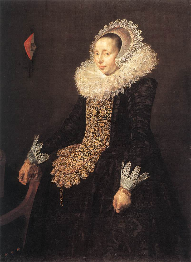 Catharina Both Van Der Eem 1620 | Frans Hals | Oil Painting