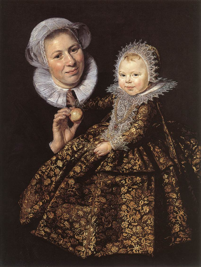 Catharina Hooft With Her Nurse 1619-20 | Frans Hals | Oil Painting