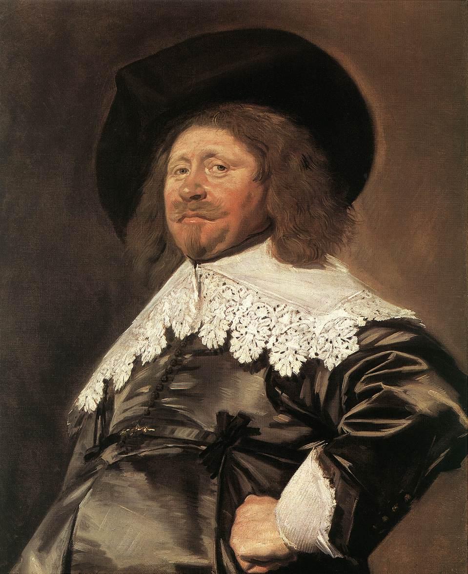 Claes Duyst Van Voorhout 1638 | Frans Hals | Oil Painting