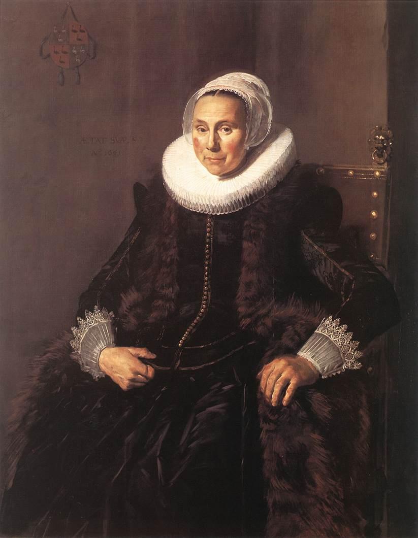 Cornelia Claesdr Vooght 1631 | Frans Hals | Oil Painting