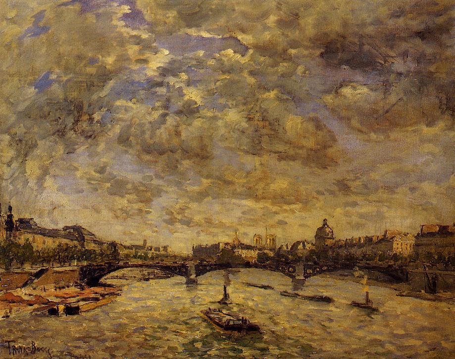 The Pont Carousel Paris 1889