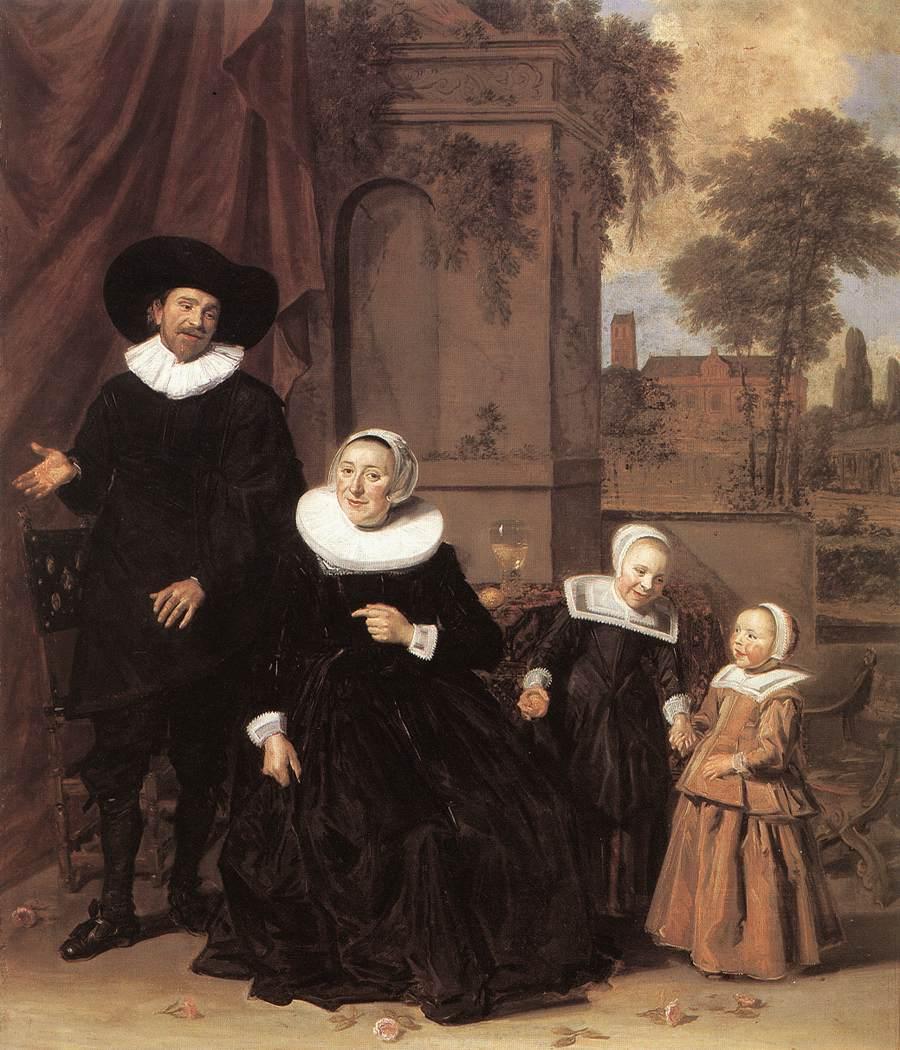 Family Portrait 1635 | Frans Hals | Oil Painting