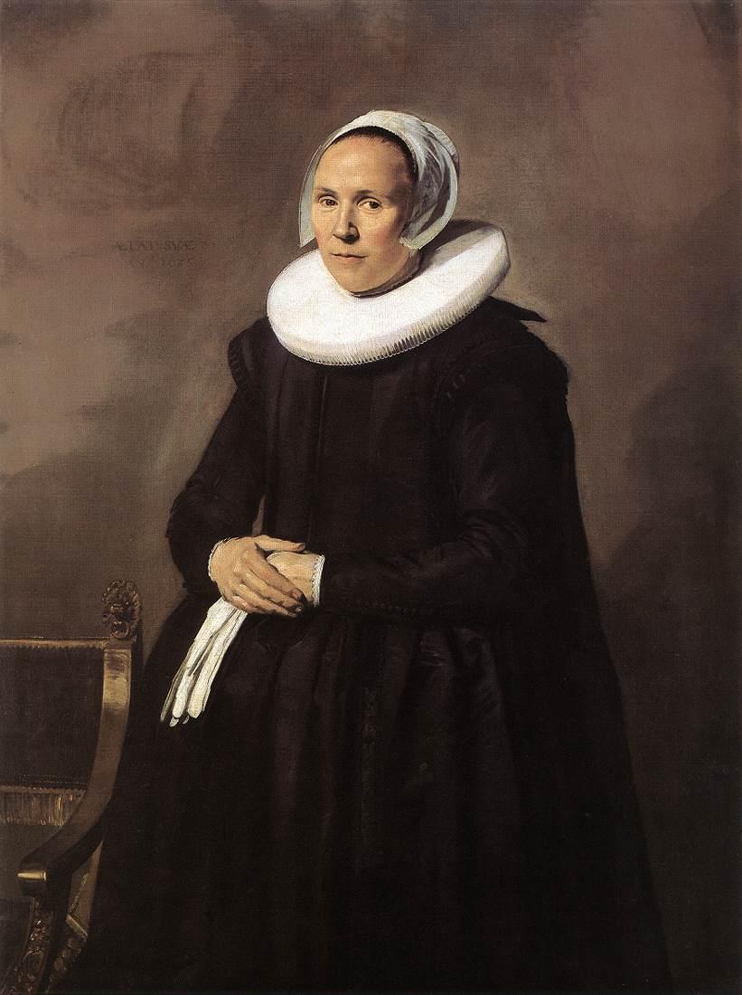 Feyntje Van Steenkiste 1635 | Frans Hals | Oil Painting