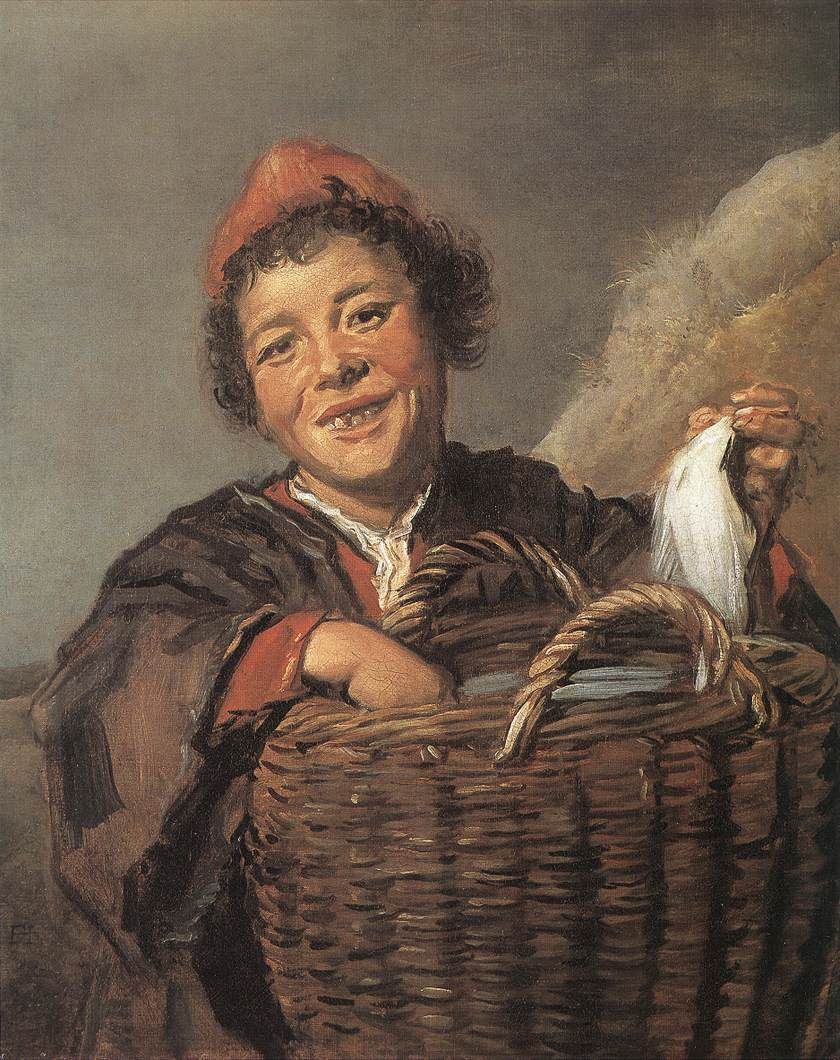 Fisher Boy 1630-32 | Frans Hals | Oil Painting