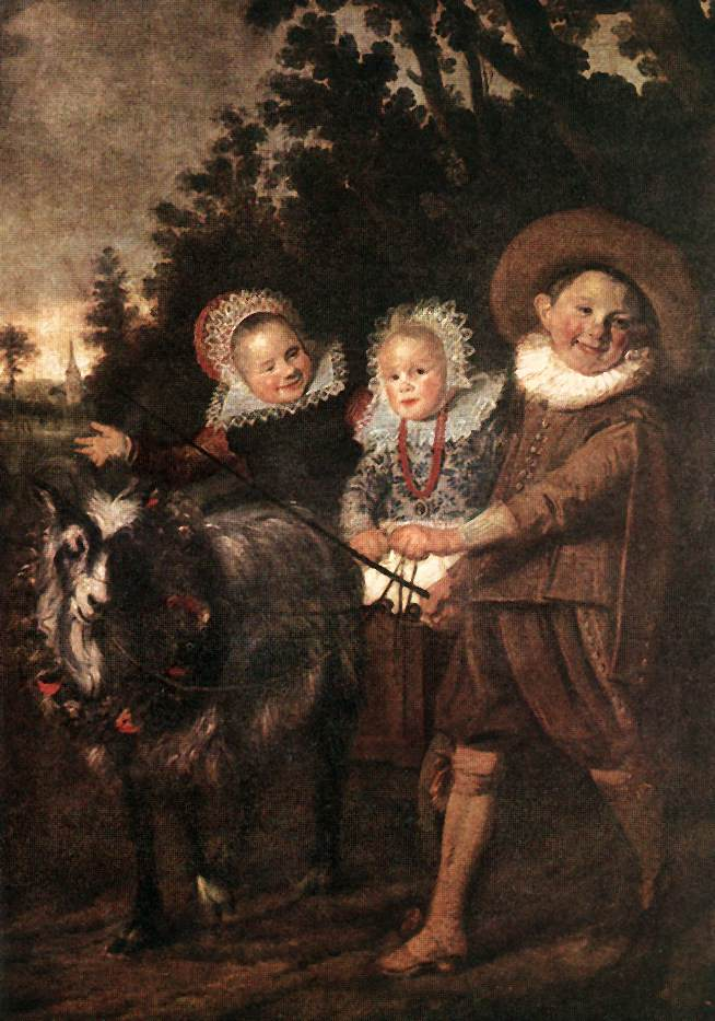 Group Of Children 1620 | Frans Hals | Oil Painting