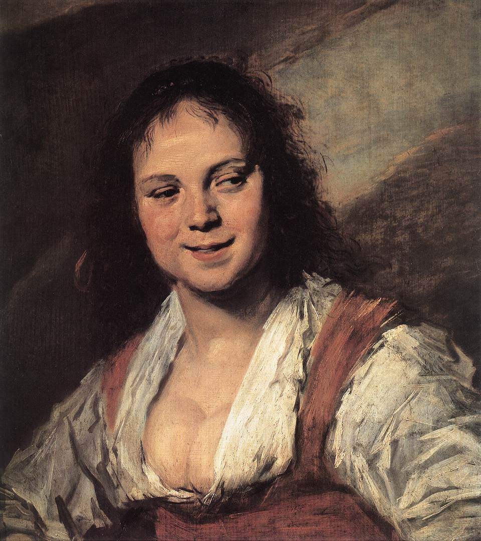 Gypsy Girl 1628-30 | Frans Hals | Oil Painting
