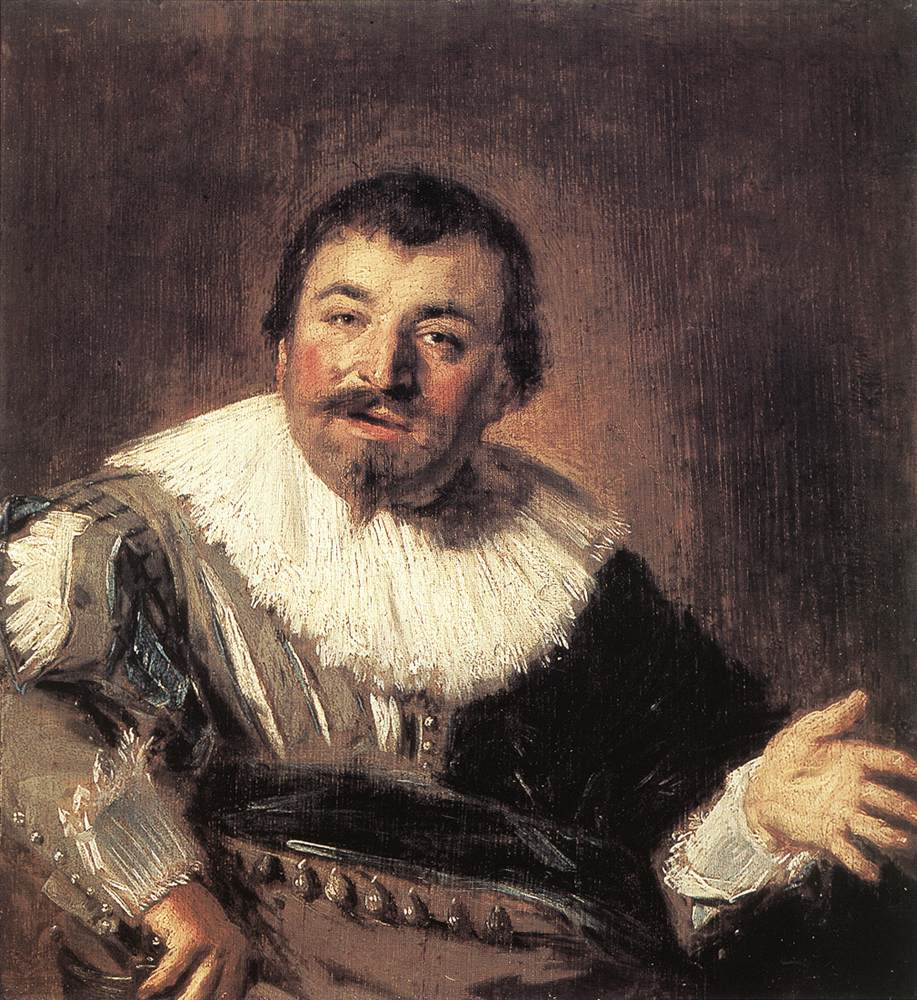 Isaac Abrahamsz Massa 1635 | Frans Hals | Oil Painting