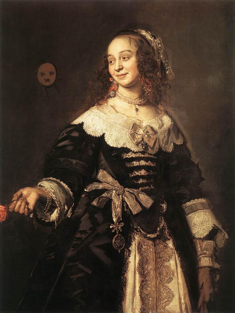 Isabella Coymans 1650-52 | Frans Hals | Oil Painting