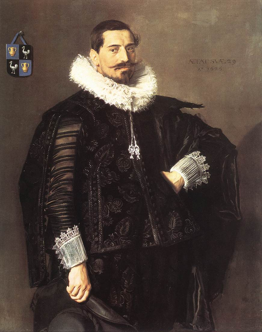 Jacob Pietersz Olycan 1625 | Frans Hals | Oil Painting