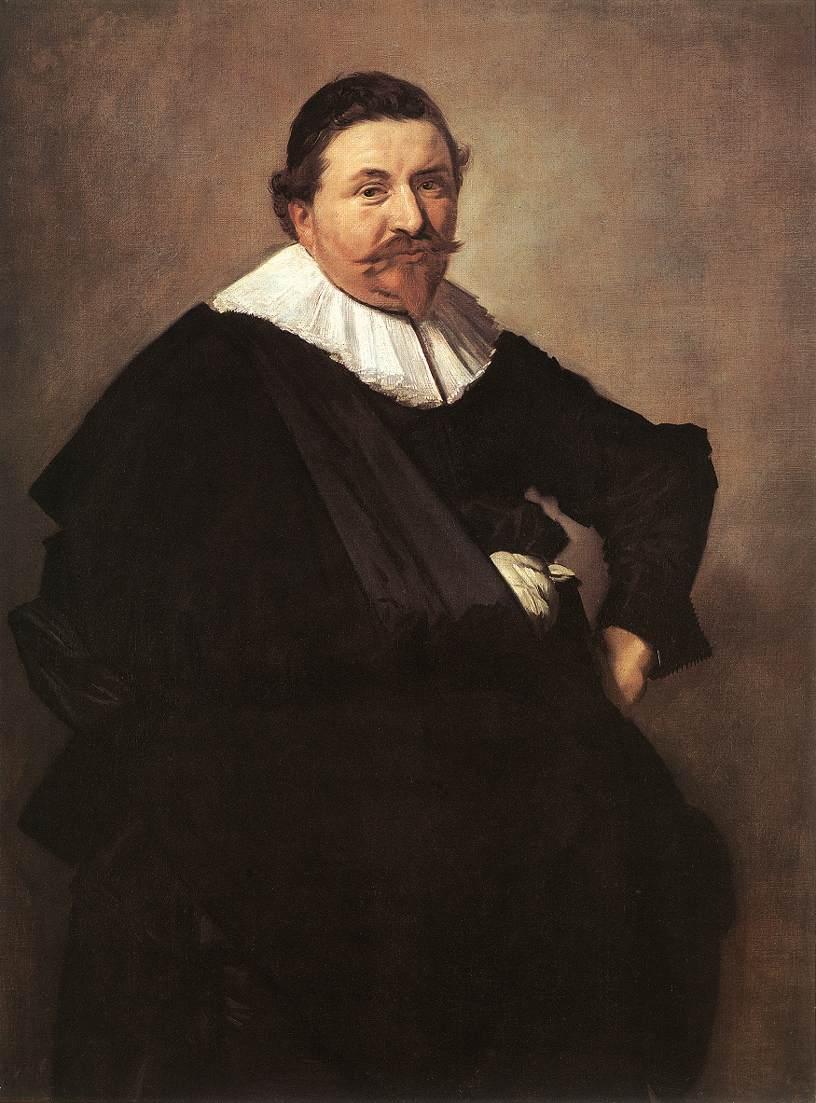 Lucas De Clercq 1635 | Frans Hals | Oil Painting