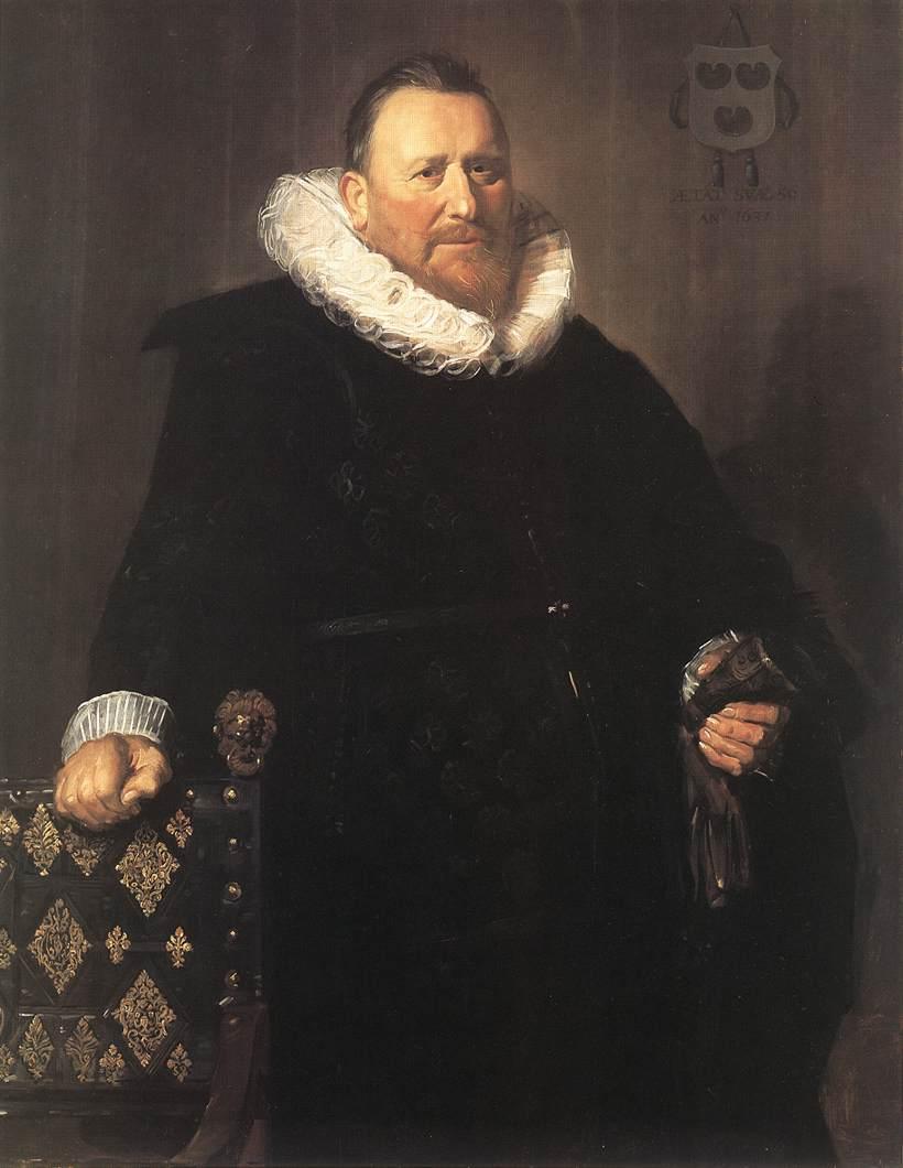 Nicolaes Woutersz Van Der Meer 1631 | Frans Hals | Oil Painting