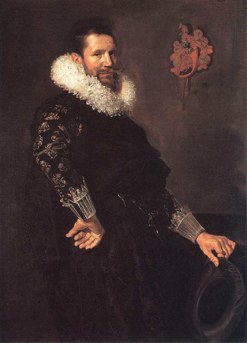 Paulus Van Beresteyn 1620 | Frans Hals | Oil Painting