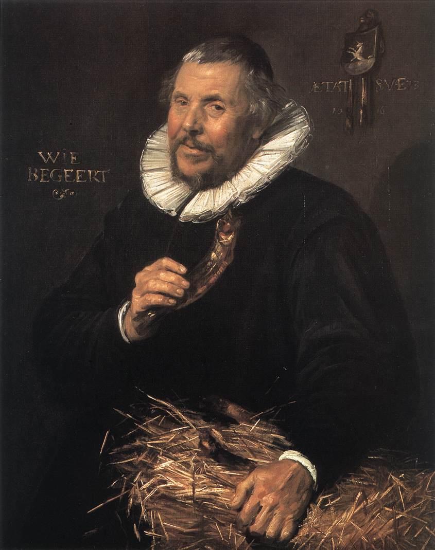 Pieter Cornelisz Van Der Morsch 1616 | Frans Hals | Oil Painting