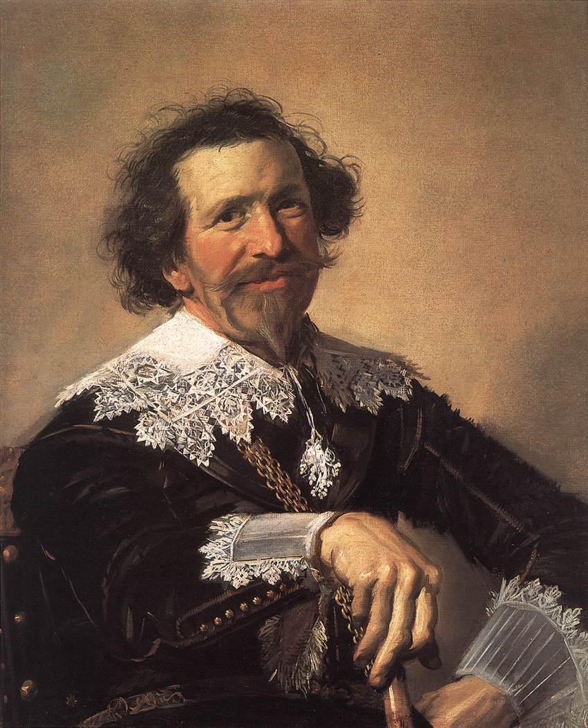 Pieter Van Den Broecke 1633 | Frans Hals | Oil Painting