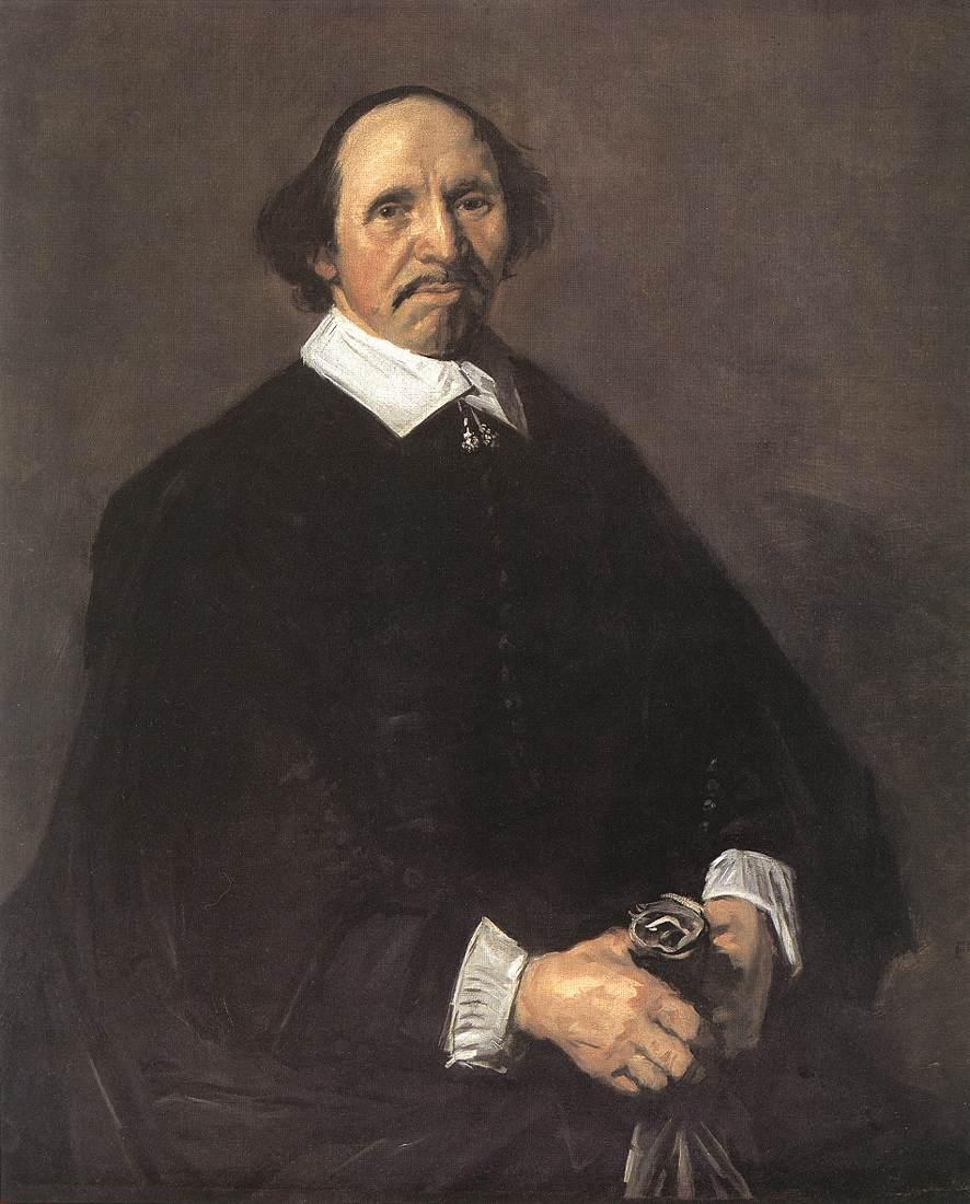 Portrait Of A Man 1555-60 | Frans Hals | Oil Painting