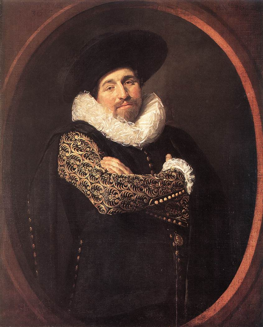Portrait Of A Man 1622 | Frans Hals | Oil Painting