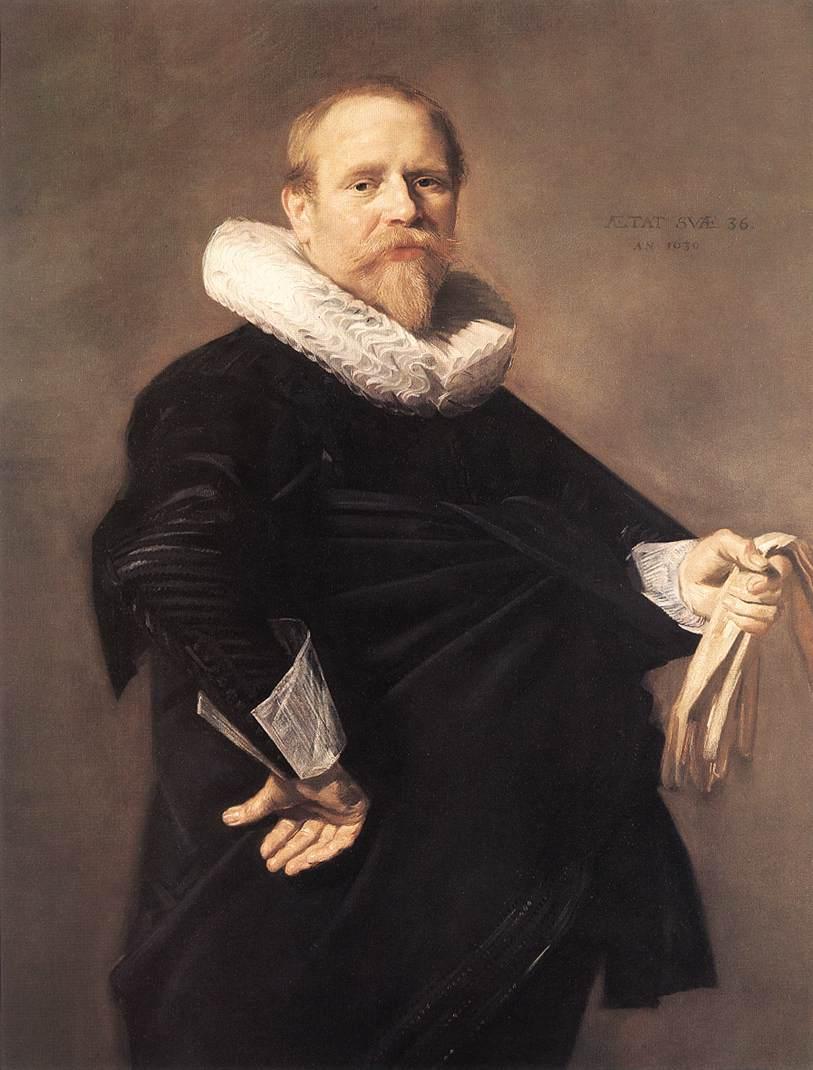 Portrait Of A Man 1630 | Frans Hals | Oil Painting