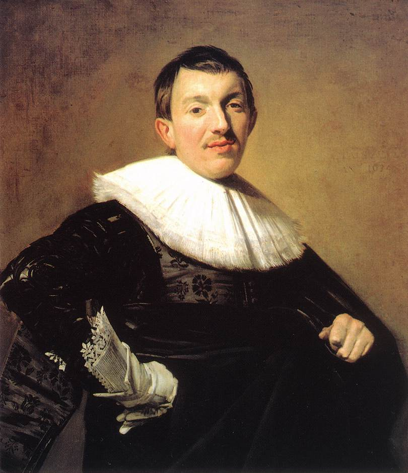 Portrait Of A Man 1634 | Frans Hals | Oil Painting