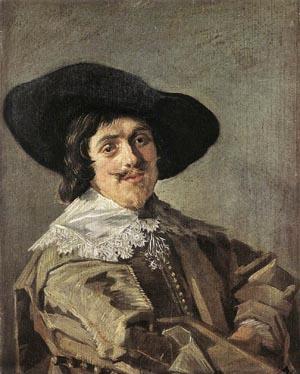 Portrait Of A Man 1635 | Frans Hals | Oil Painting