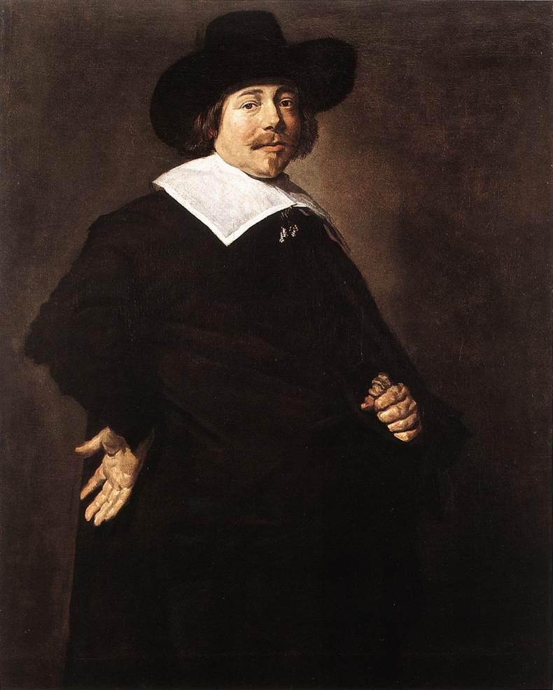 Portrait Of A Man 1640 | Frans Hals | Oil Painting
