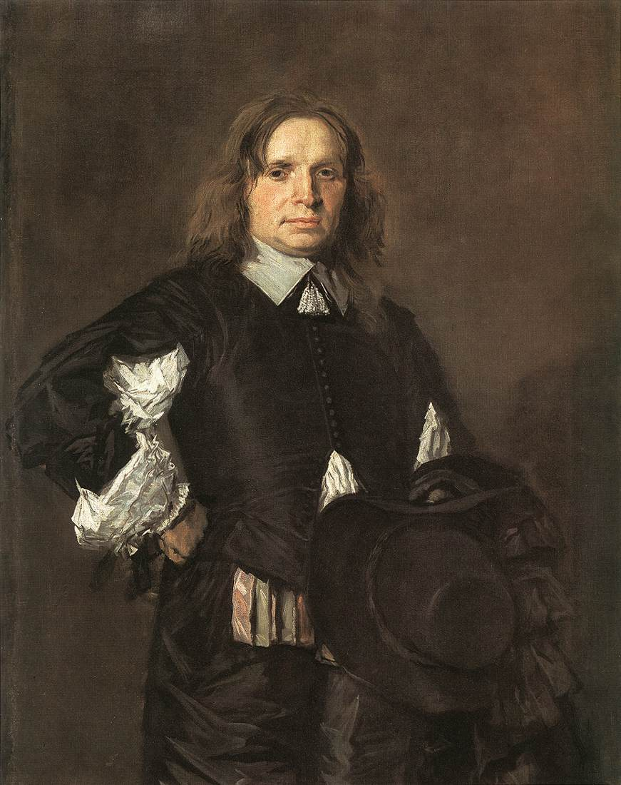 Portrait Of A Man 1650-52 | Frans Hals | Oil Painting