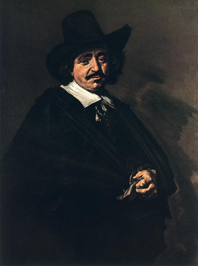 Portrait Of A Man 1655 | Frans Hals | Oil Painting