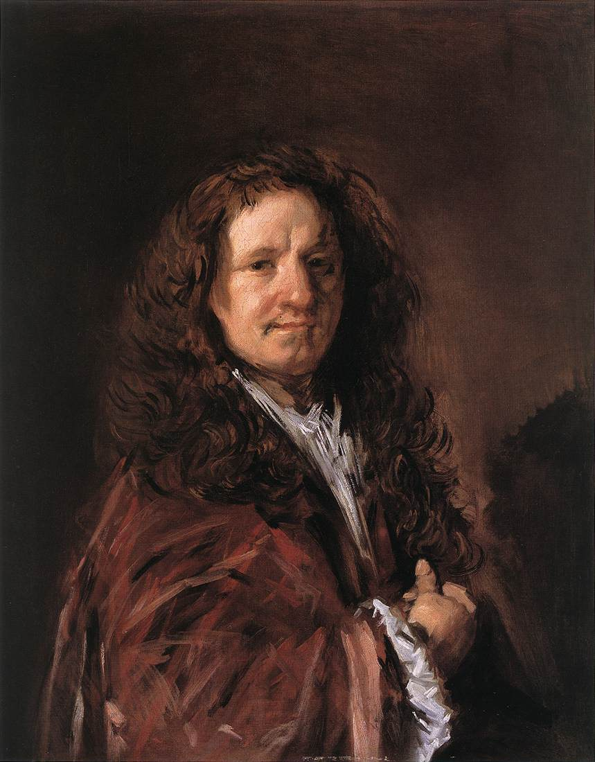 Portrait Of A Man 1660-66 | Frans Hals | Oil Painting
