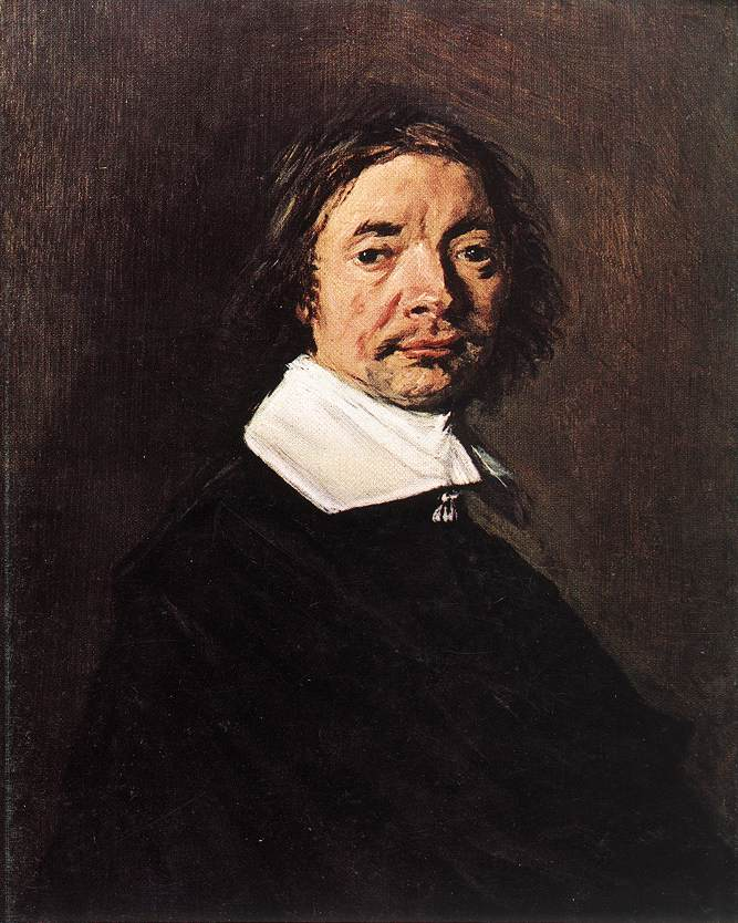 Portrait Of A Man 1660 | Frans Hals | Oil Painting