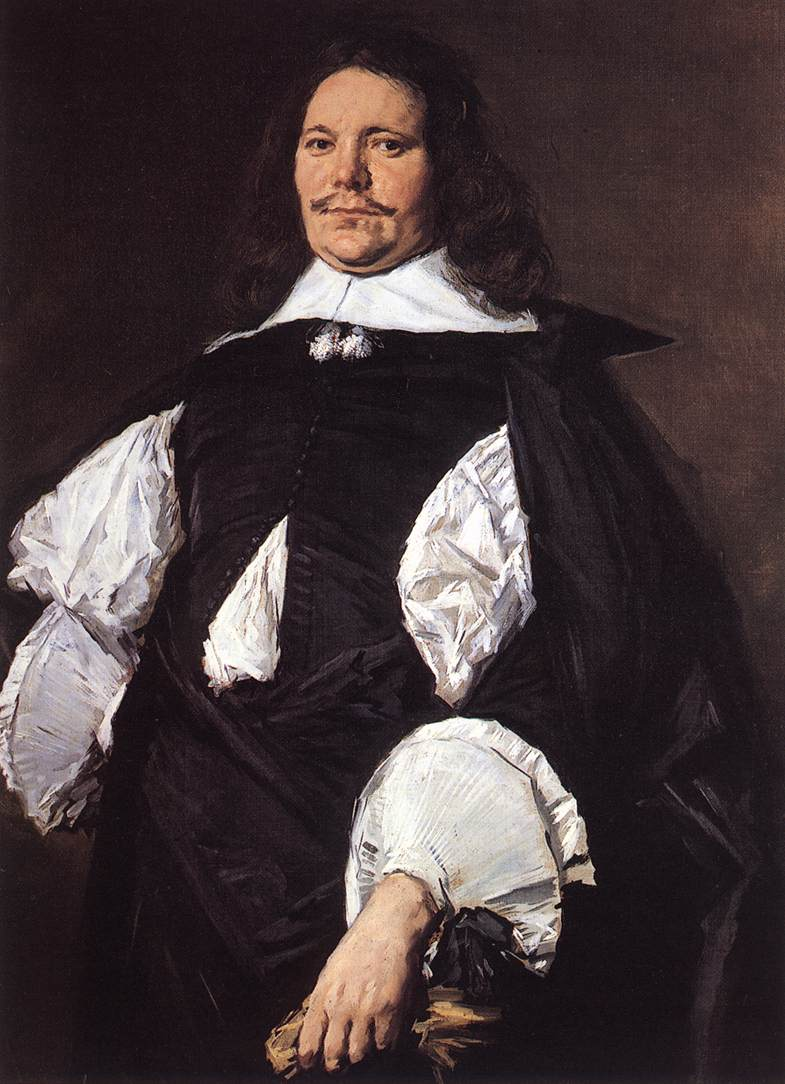 Portrait Of A Man | Frans Hals | Oil Painting