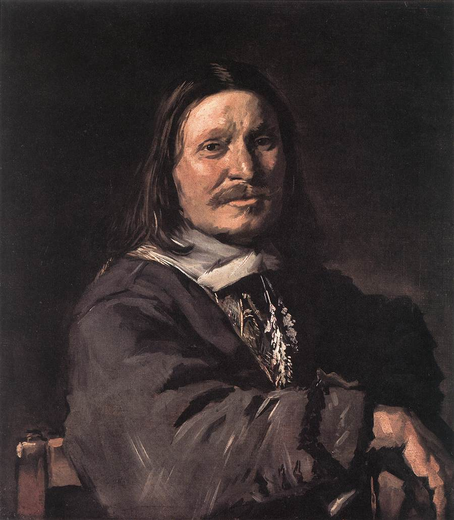 Portrait Of A Seated Man 1660-66 | Frans Hals | Oil Painting