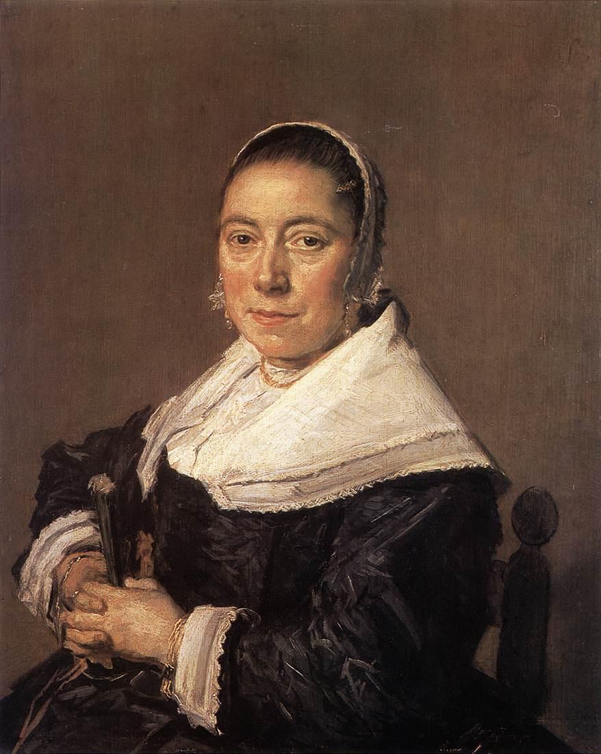 Portrait Of Z Pertseva 1921 | Frans Hals | Oil Painting