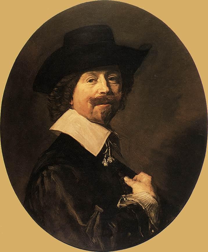 Portrait Of A Man 1644 Six