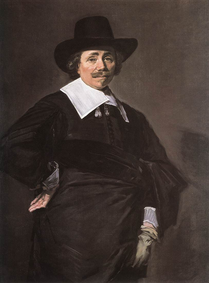 Portrait Of A Standing Man 1643-45 | Frans Hals | Oil Painting