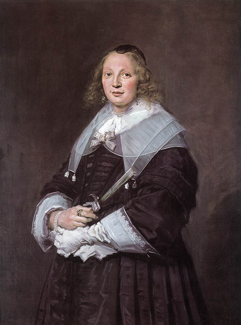 Portrait Of A Standing Woman 1643-45 | Frans Hals | Oil Painting