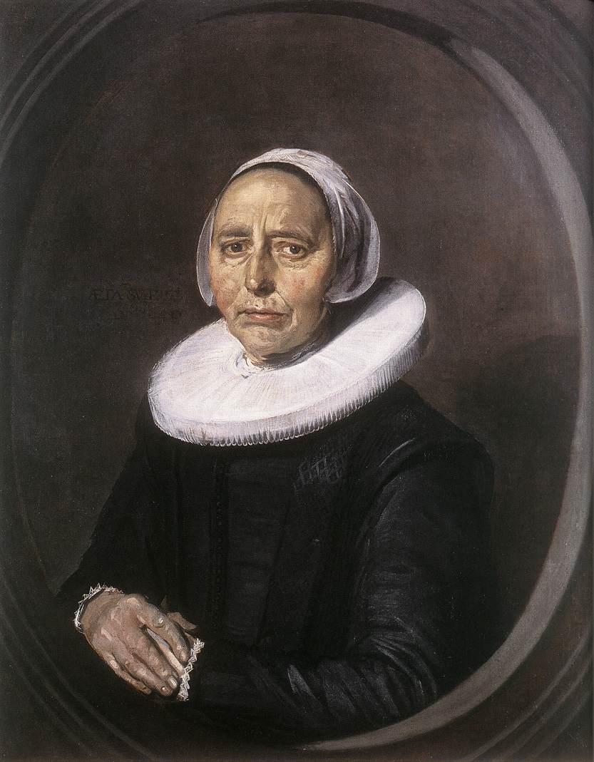 Portrait Of A Woman1640 | Frans Hals | Oil Painting