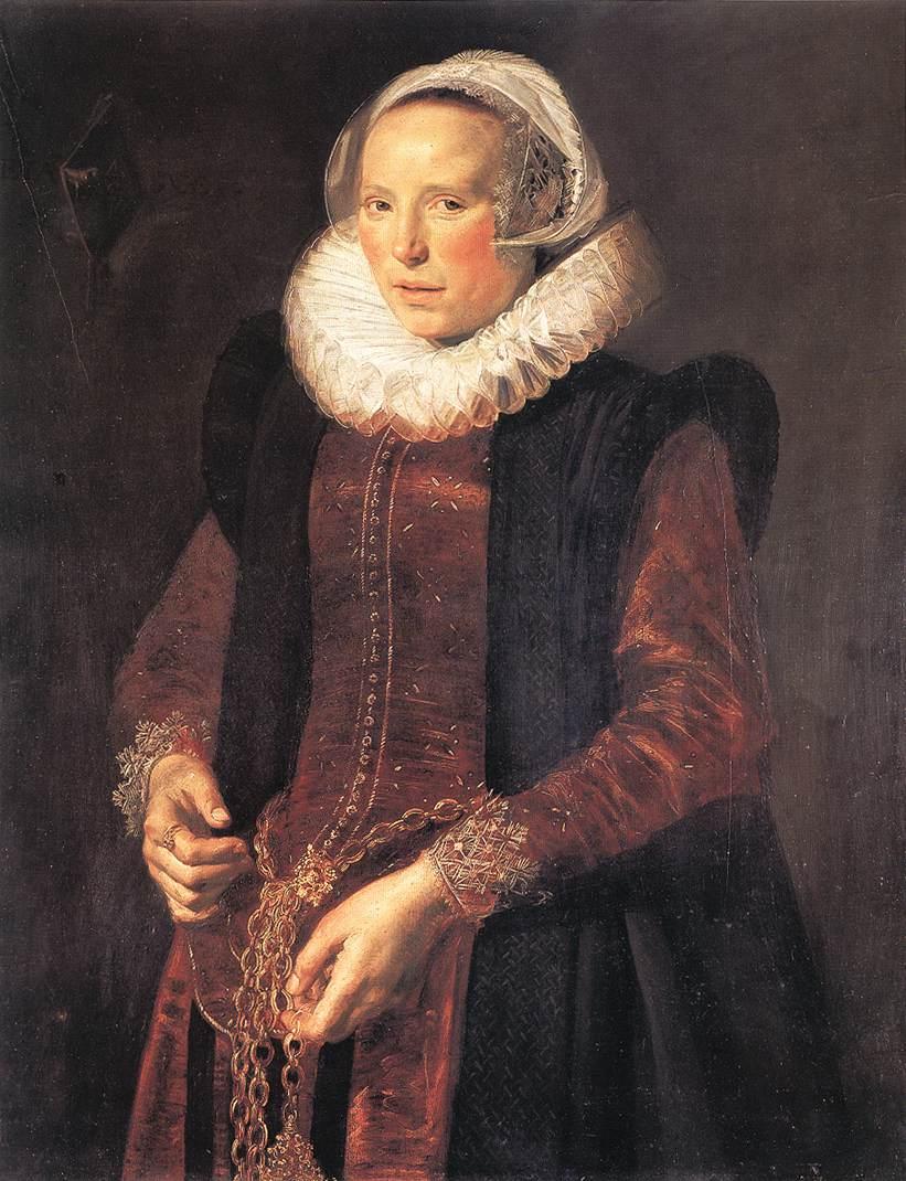 Portrait Of A Woman 1611 | Frans Hals | Oil Painting