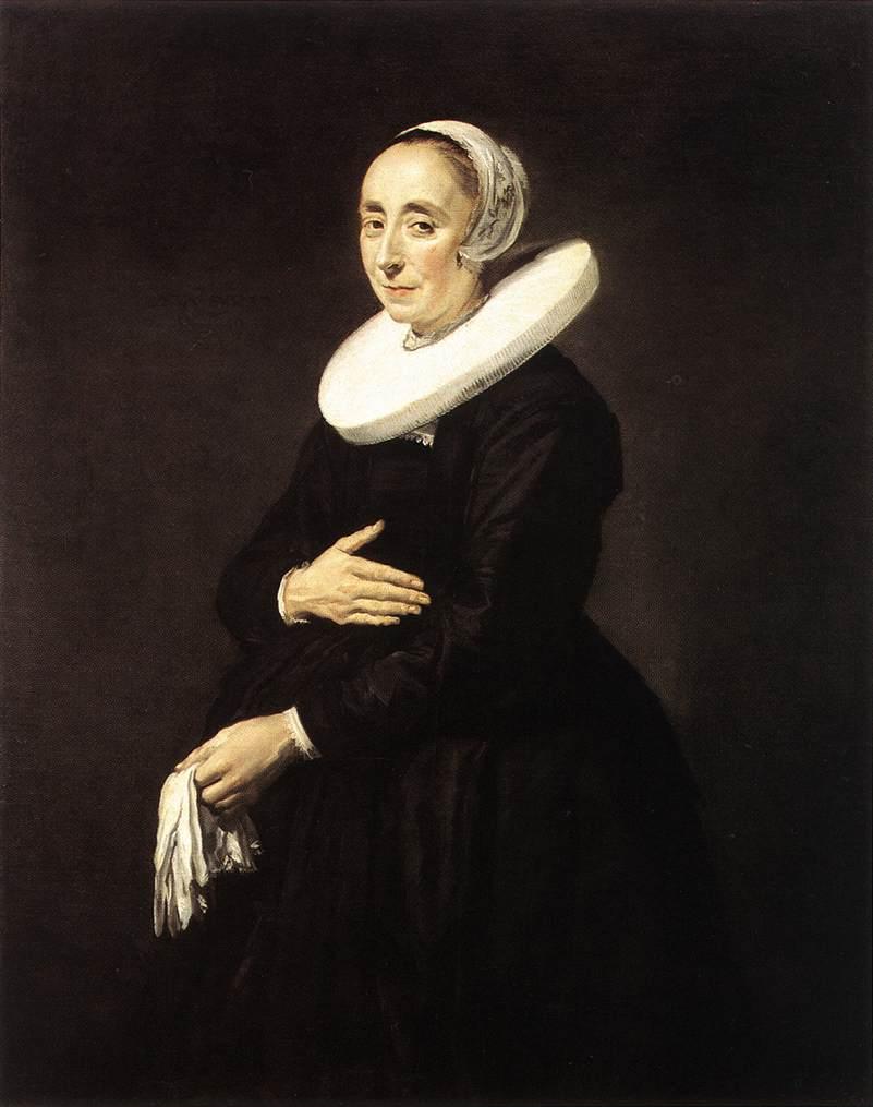 Portrait Of A Woman 1640 | Frans Hals | Oil Painting