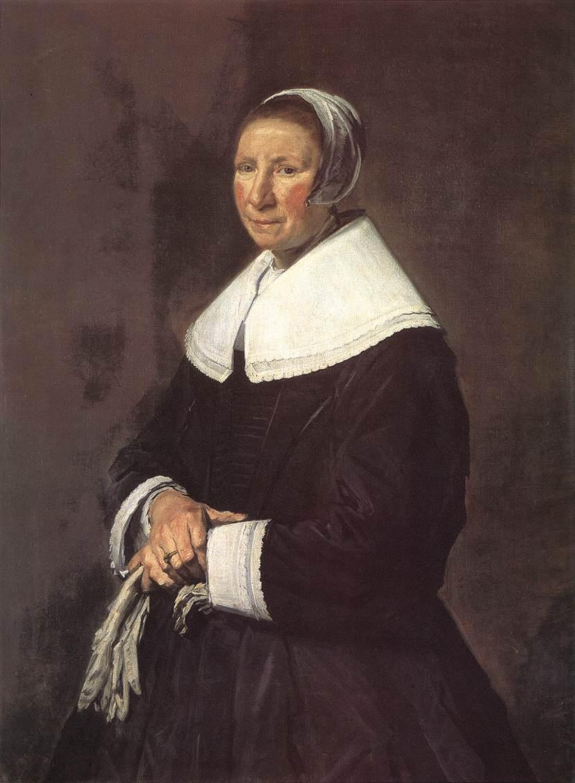 Portrait Of A Woman 1648-50 | Frans Hals | Oil Painting