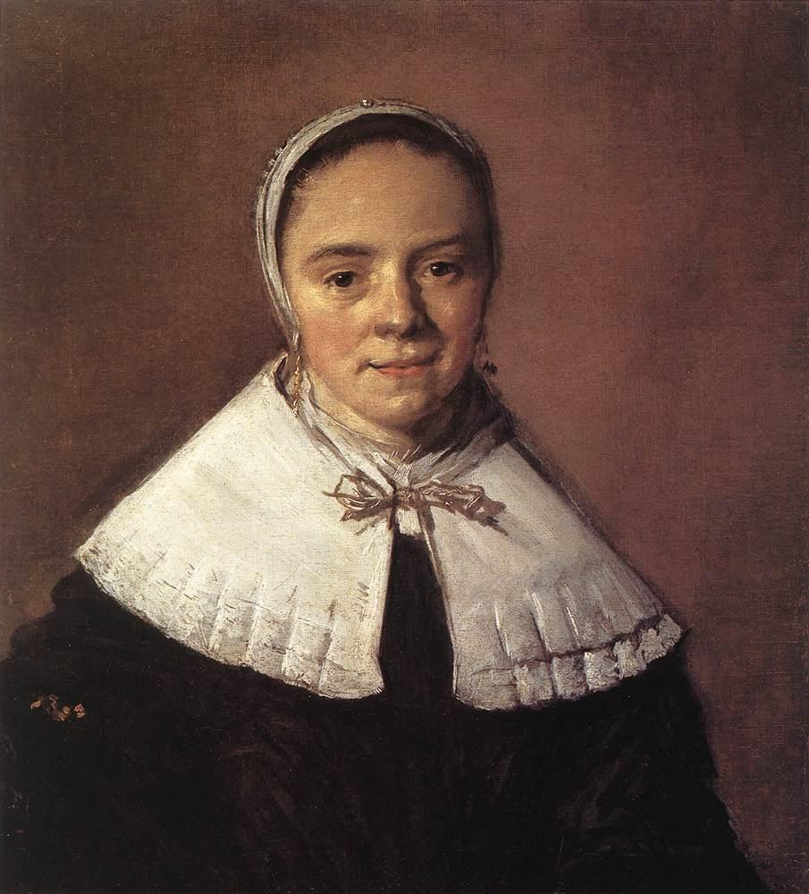 Portrait Of A Woman 1655-60 | Frans Hals | Oil Painting