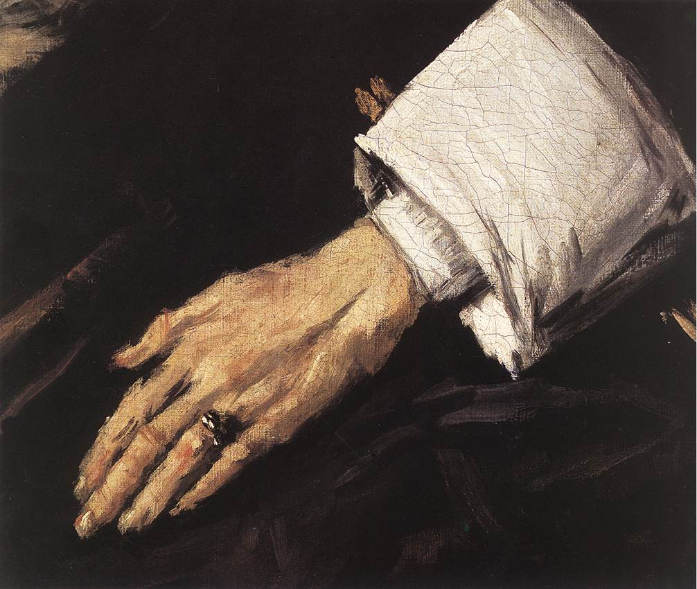 Regentesses Of The Old Mens Almshouse (Detail) 2 1664 | Frans Hals | Oil Painting